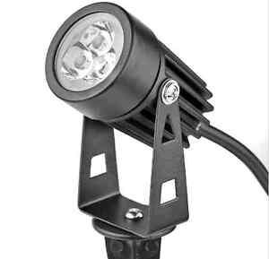 4 LED Garden Spotlights landscape lights low voltage bright flood  waterproof