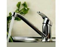 Brand new : Modern Chrome Swivel Kitchen Basin Sink Mixer Tap Faucet Spout Hot & Cold