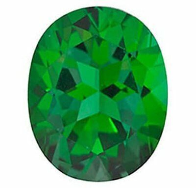 Swarovski Rainforest Green Natural Topaz Gemstone OVAL Shape AAA Flawless