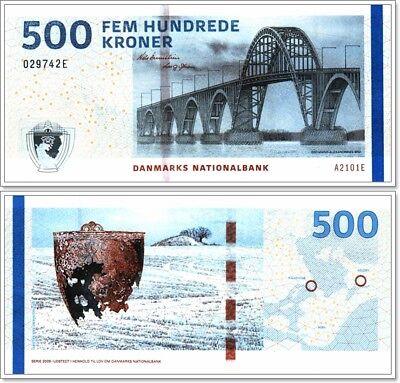 Gem UNC Denmark P-New 2011 500 Kroner