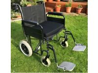 Extra Wide Wheelchair bariatric model up to 32 stone can deliver no extra charge