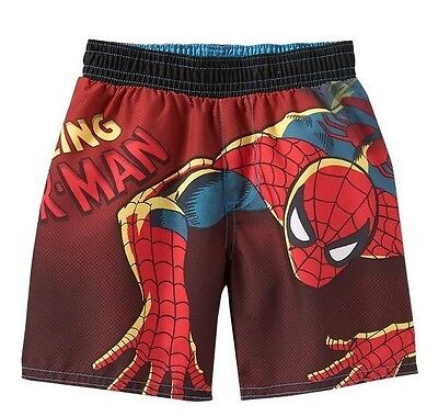 NWT 6-12 MON. COOL OLD NAVY SPIDER-MAN TRUNKS BOYS GIFT SWIM BATHING SUIT $16.50 - Cool Superhero Suits