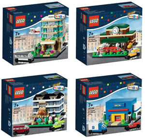 Toys R Us Exclusive: LEGO Bricktober #40141, #40142, #40143 & #4