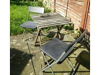 Ikea garden table and chairs