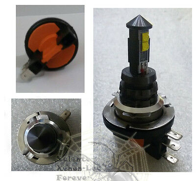 LAMPADA H15 4 LED CREE 1000LM DRL DIURNA+ABB CANBUS VW / Fiat Tipo