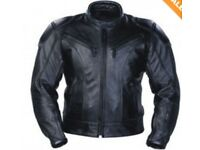 Leather Motorcycle Jacket -- nearly new