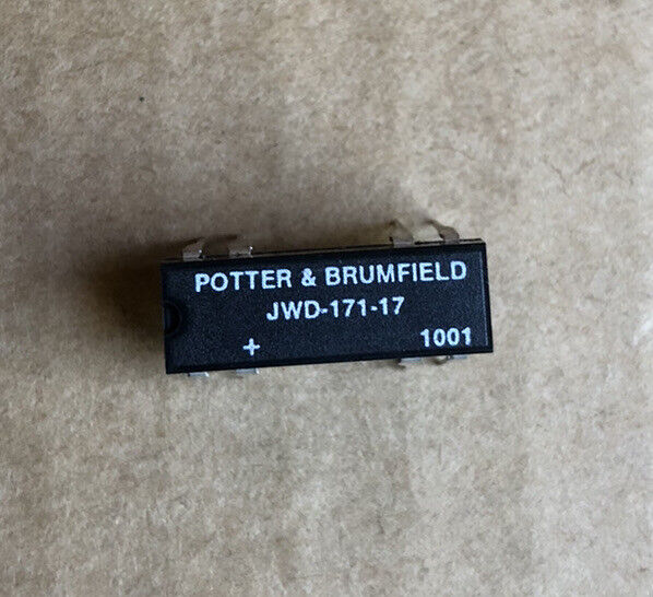 Potter & Brumfield JWD-171-17 Relay Reed SPST .5A 5V Normally Closed. 2 pcs