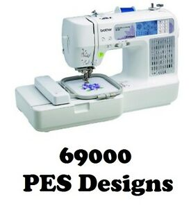 PES EMBROIDERY DESIGNS - HUGE COLLECTION 69000 BROTHER DESIGNS