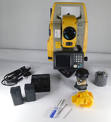 Topcon 5 Auto Tracking Robotic Total Station Ds-205ac Rts