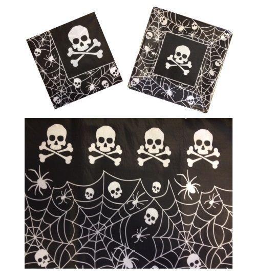 Pirate Skull Crossbones ~ Halloween Party Supplies - Tableware Decorations