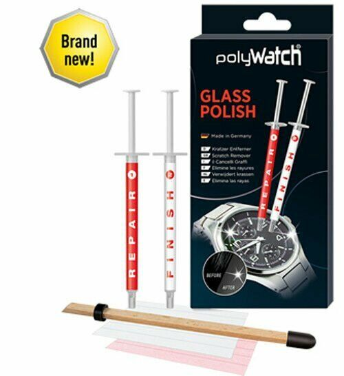 PolyWatch Glass Polish - Scratch Remover / Repair SmartPhone Screens Watches
