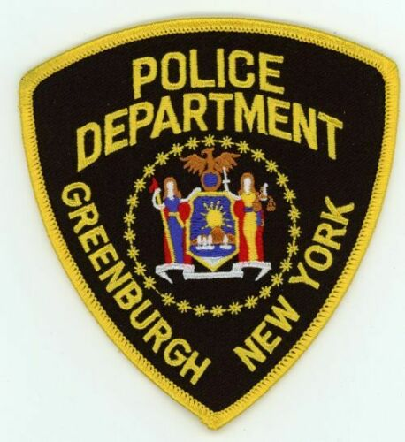 NEW YORK GREENBURGH POLICE NEW PATCH SHERIFF STYLE 2 OF 2