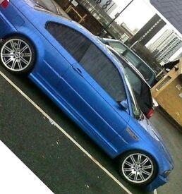 BMW E46 3 SERIES 323 FULL M3 REPLICA IN RARE ESTORIAL BLUE NOT 320 325 328 330