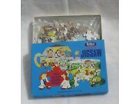 Tetley Tea Vintage double sided Jigsaw