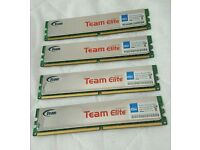 Team Elite 4 x 1GB DDR2 800MHz Desktop Memory