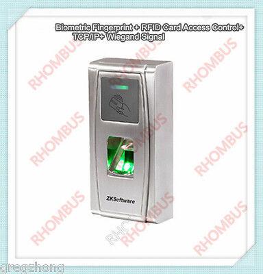 Biometric Fingerprint Rfid Card Access Control Tcpip Wiegand Signal