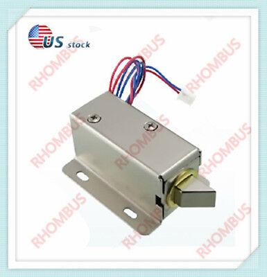 Mini Electric Bolt Lock Dc12vsmall Cabinet Lock Solenoid Electric Door Lock