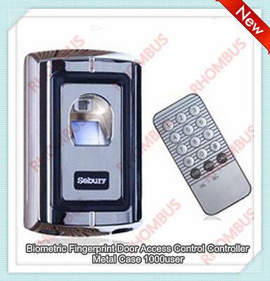 Biometric Fingerprint Door Access Control Controller Metal Case 1000 Userf007-