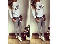Women's Nike jogger bottoms and jumper