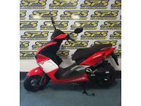 Lexmoto Diablo 50cc Premium sports scooter, designed in Italy (RIDE AT 16)