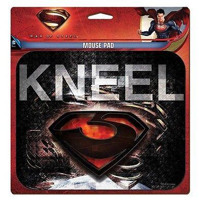 Superman Man of Steel Kneel Mouse Pad