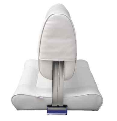 Bootssitz Athene Rückenlehne klappbar Steuerstuhl gepolstert weiß Komfortabel