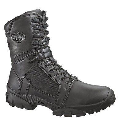 Harley-Davidson® Men's Lynx Waterproof Black Leather Motorcycle Boots D95149 Waterproof Lynx