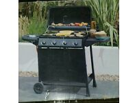 4 burners gas bbq