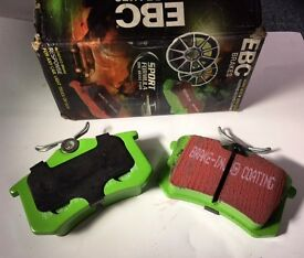NEW EBC Greenstuff Rear Brake Pads - DP21230 (ONE-SIDE ONLY ie. 2 pads)