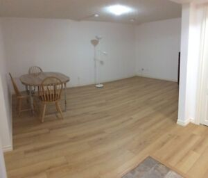 one bed basement suite - renovated - utl. included