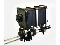 Sinar F1 large format 5 by 4 camera kit