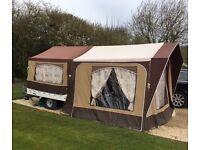 Cabanon 'Venus' 2 berth trailer tent