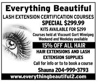 CERTIFICATION LASH INSTALL COURSE MAKE $$500++/DAY