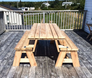 Made to Order Patio Tables