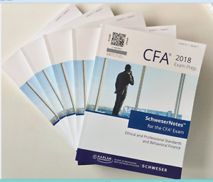 2018 CFA Level 3 study notes and practice exams