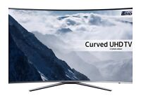 """43"""" Samsung Curved HDR 4K Ultra HD Smart TV, with Freeview HD, UE43KU6500"""