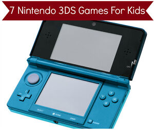 7 Nintendo 3DS Games For Kids