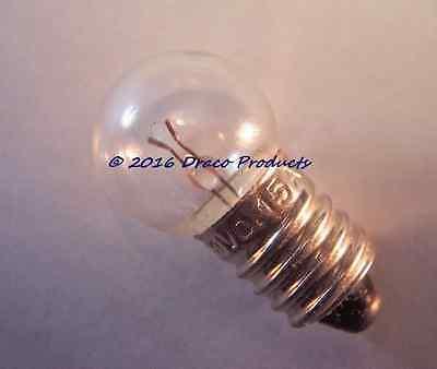 #502 Screw Bulb lamp NEW for 6-Volt 4
