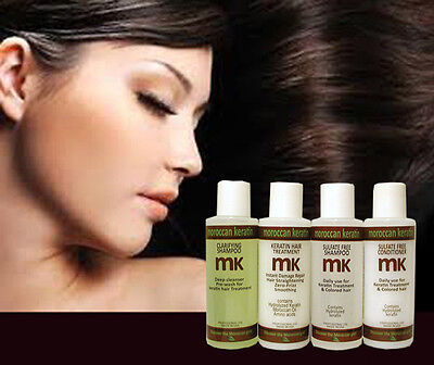 Moroccan Keratin Hair Brazilian Treatment Professional Kit 120ml Amazing Results