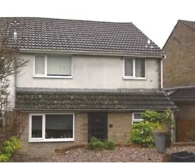 Unfurnished 3 bed link attached house in Nailsworth Gloucestershire, available November