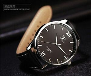 Quartz Analog Business Casual Mens Wristwatch