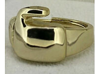 9ct Gold Plated Boxing Glove Ring