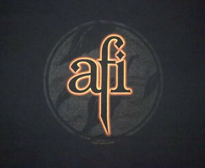 Vintage AFI A Fire Inside Punk Band Shirt Regina Regina Area image 1