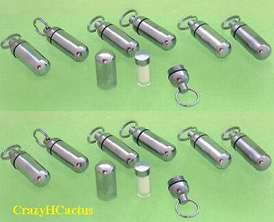 12 Micro Cache Containers & 12 INNER Containers Geocache Geocaching FREE LOG!