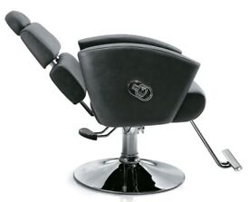 Reclining Beauty threading 2 in 1 Hairdressing salon chairs