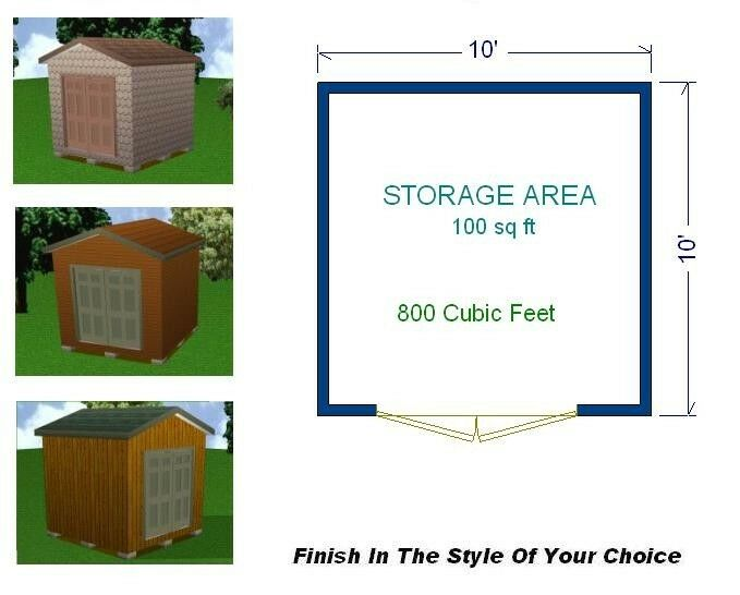 Storage building plans and materials list download shed for House material packages