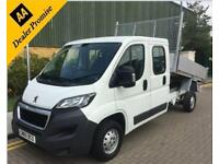 2015 Peugeot Boxer Tipper double cab 2.2 HDi 335 L3 4dr Diesel Manual 130 bhp M