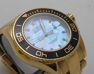 INVICTA Pro Diver Mother of Pearl Dial Men's Watch