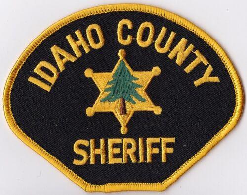 Idaho County Sheriff Police Patch Idaho ID