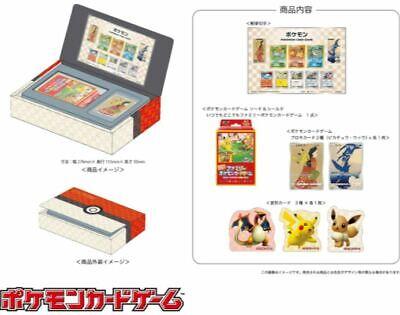 PSL POKEMON Japan Postal Stamp Notebook Card game Promo Cards in the Monsta box